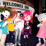 SRK in cartoonland