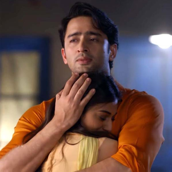 Dev (Shaheer Sheikh) and Sonakshi's (Erica Fernandes) first hug