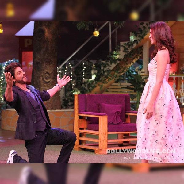 Shah Rukh Khan went on his knees for Alia Bhatt