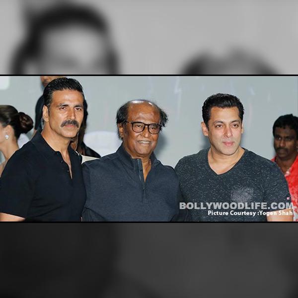 Akshay Kumar, Rajinikanth and Salman Khan in one frame is too much to handle