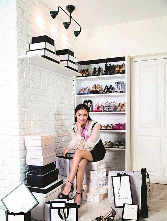 Alia Bhatt's shoe closet is definitely every girl's dream closet