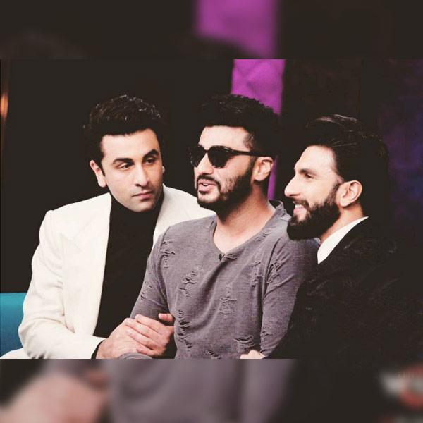 Arjun Kapoor joins Ranbir Kapoor and Ranveer Singh on Koffee with Karan