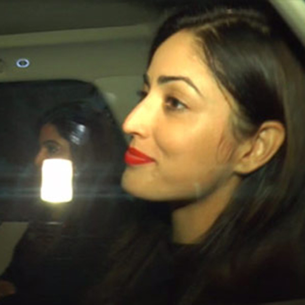 Kaabil actress Yami Gautam also followed her co-star Hrithik Roshan for Shah Rukh Khan's party