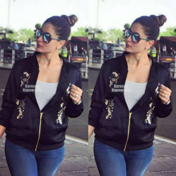Kareena Kapoor Khan's casual airport look during her first trimester is on point