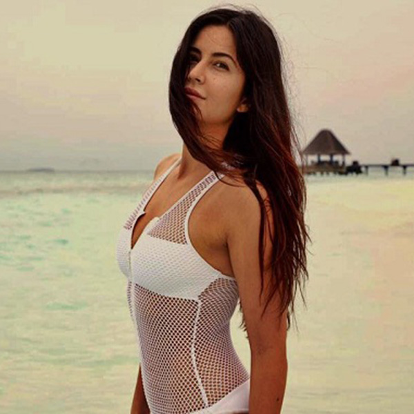 Katrina Kaif looking effortlessly HOT in this white see-through bodysuit