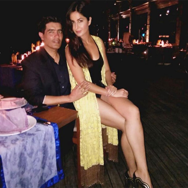 Manish Malhotra has accompanied Katrina Kaif to Maldives for the shoot