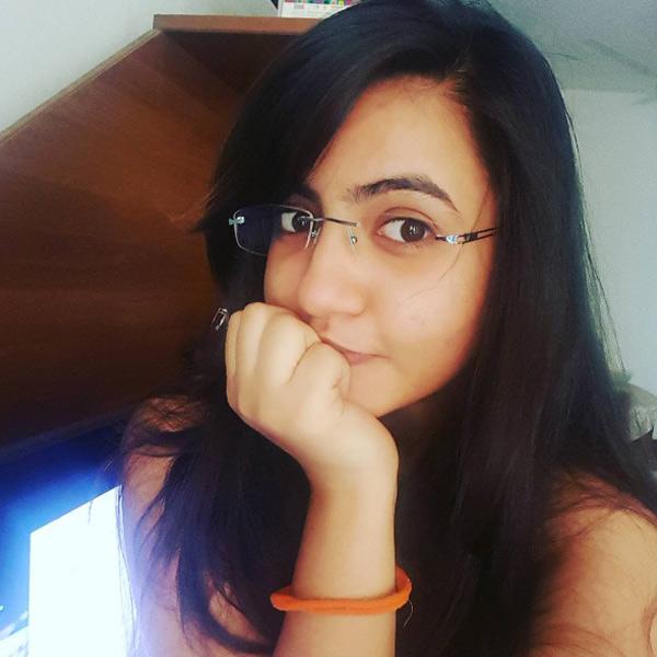 Meera Deostahale's selfie at home
