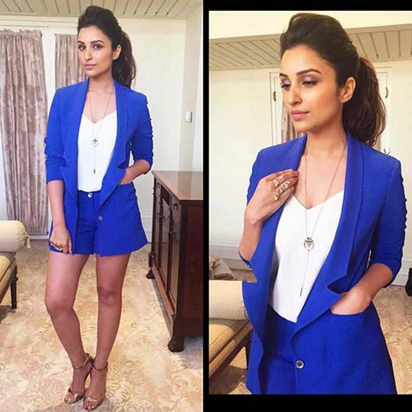 Parineeti Chopra flaunts her toned body