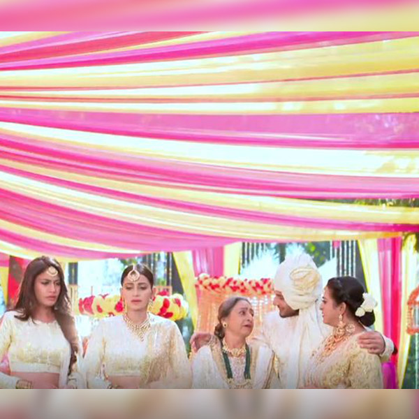 Pinky complains the bride's dress got spoilt in Ishqbaaz IB1