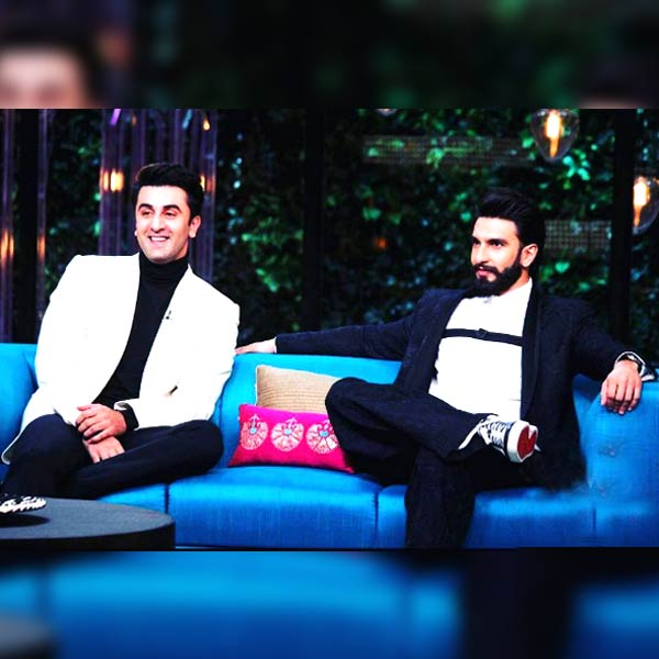 Ranbir Kapoor and Ranveer Singh's body language in this picture says what's going on in their mind