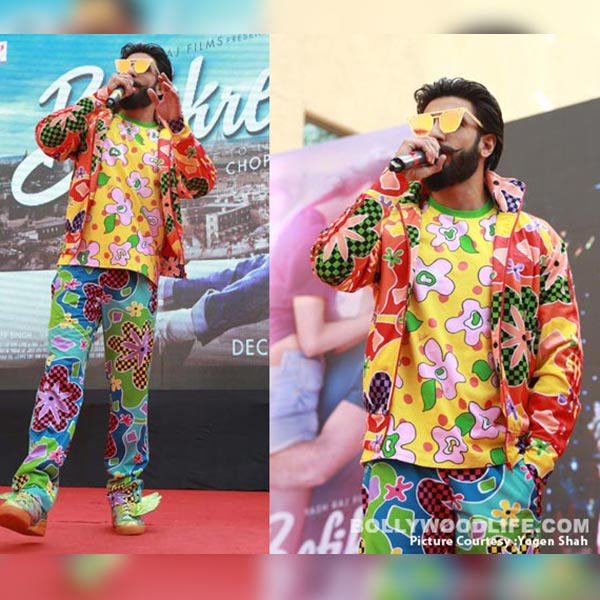 Ranveer Singh was stricken by a unicorn as he was colourful AF on the event
