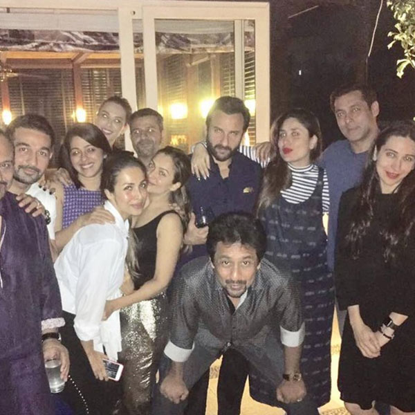 Salman Khan joins Kareena Kapoor Khan for a late night dinner party with Iulia Vantur
