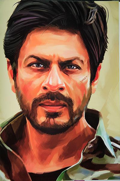 Shah Rukh Khan as Samar from Jab Tak Hai Jaan