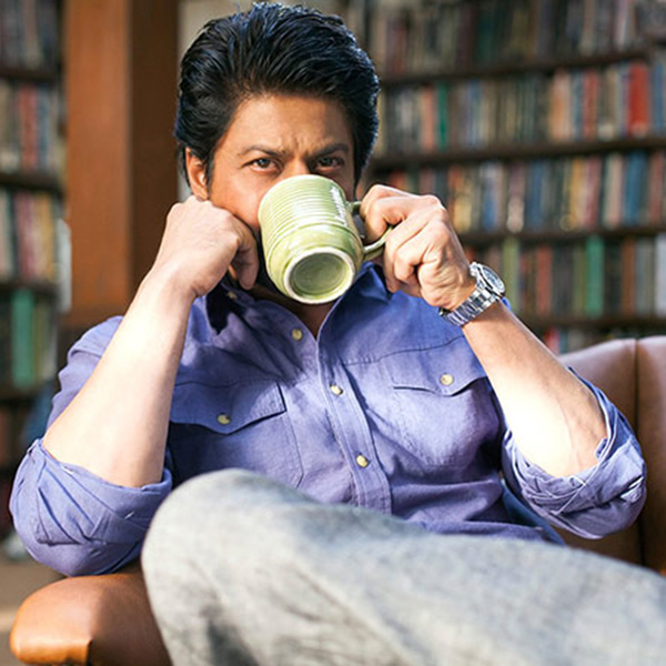 Shah Rukh Khan is the one who comes to her rescue