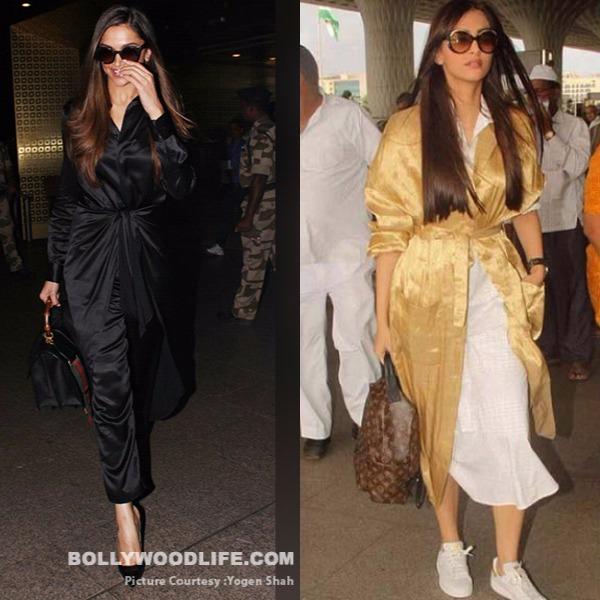 Deepika airport Sonam similar